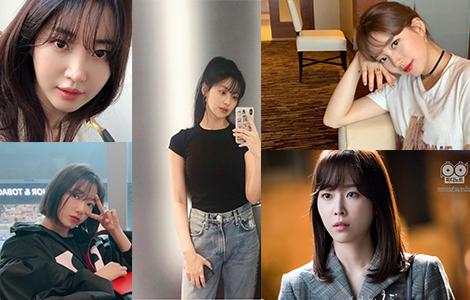 韓国前髪,韓国女優,韓国髪型,Kbeauty,韓国人髪型