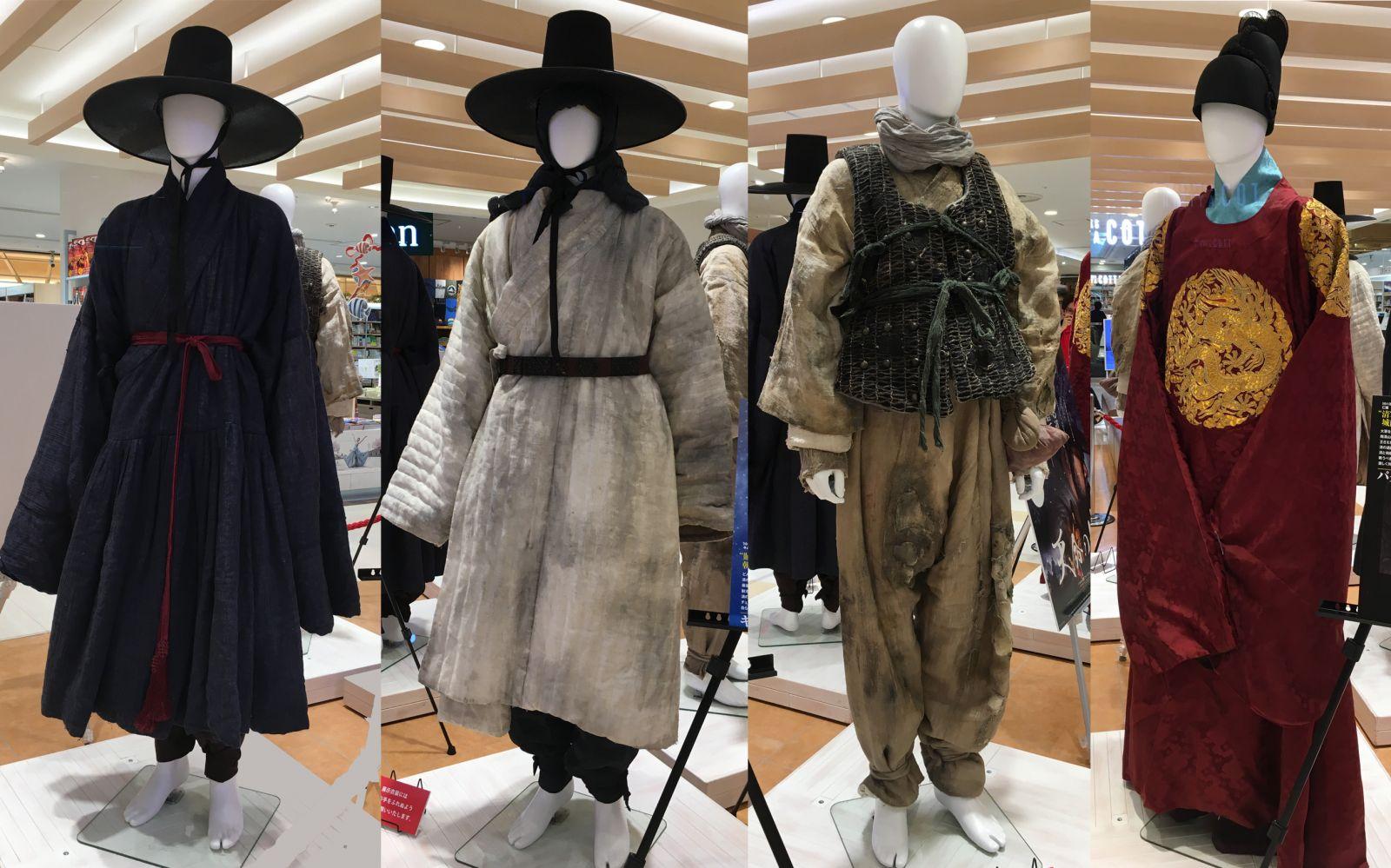 イ・ビョンホン、天命の城、キム・ユンソク、パク・ヘイル、コ・ス、衣装展示
