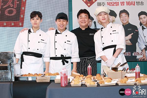 キム・ドンジュン(ZE:A),ヤン・セヒョン,ペク・ジョンウォン,キム・ヒチョル(Super Junior)