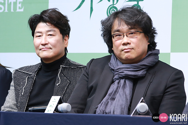 ソン・ガンホ,ポン・ジュノ