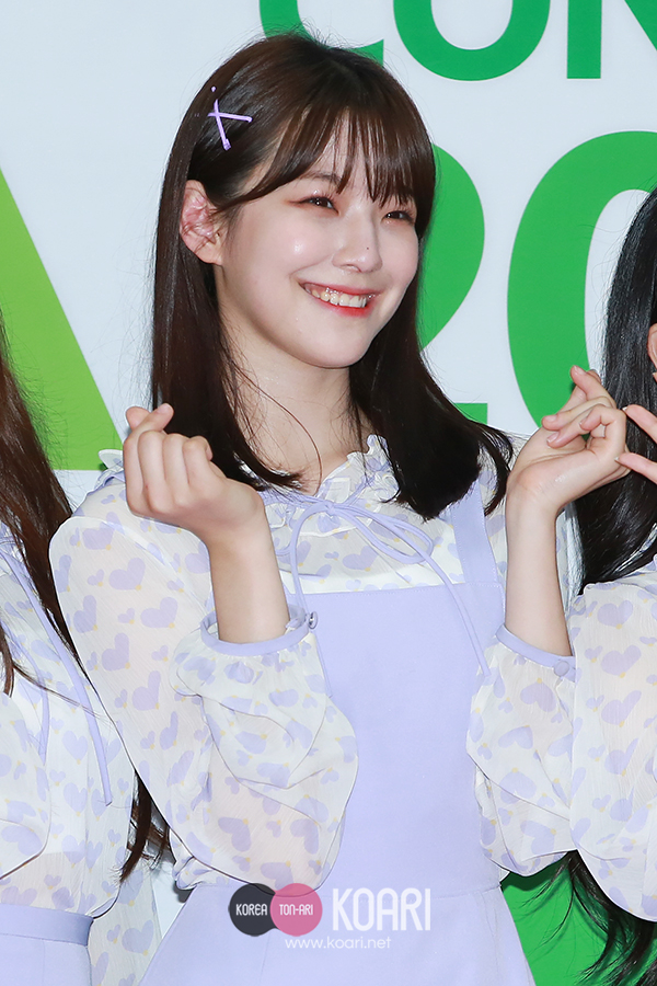 fromis 9、ペク・ジホン
