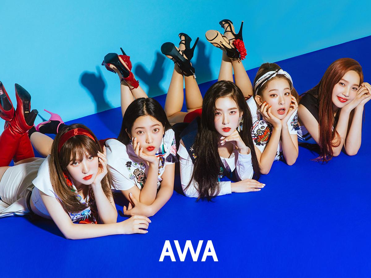 Red Velvet,レッドベルベット,レッベル