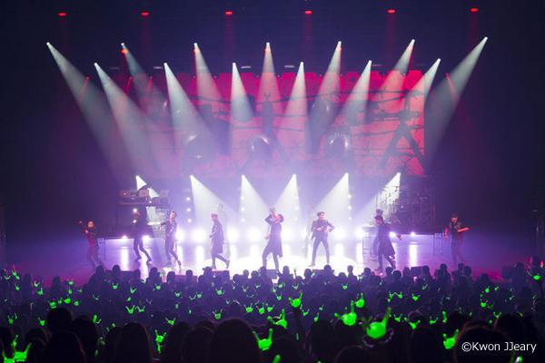 「B.A.P LIVE ON EARTH 2016 WORLD TOUR JAPAN AWAKE!! 大阪公演ライブ」