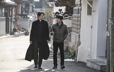 キム・ナムギル,キム・ソンギュン,熱血司祭