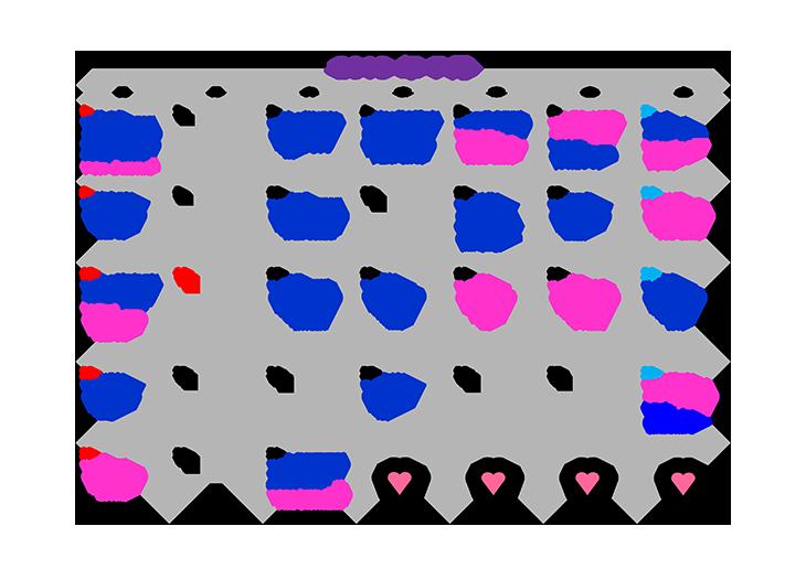 7月誕生日カレンダー