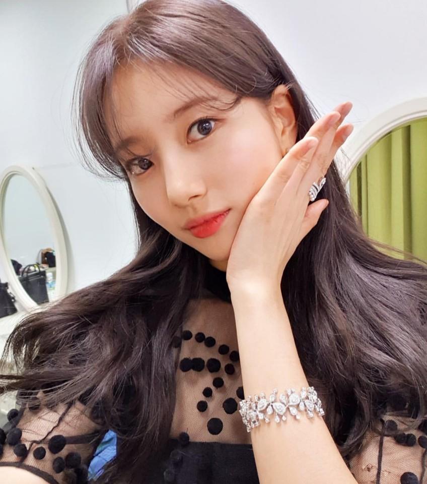 韓国前髪,韓国女優,韓国髪型,suzy,スジ,배수지,수지