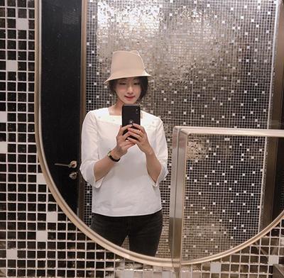 キム・サラン,キムサラン,KimSaRang,Kbeauty,韓国帽子,韓国ファッション,韓国流行,韓国ビューティー