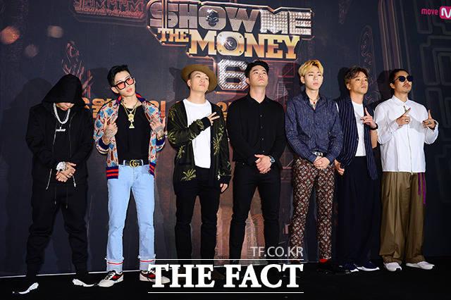 SHOW ME THE MONEY 6,Dok2,パク・ジェボム,Gaeko,Dynamic Duo,CHOIZA,チェジャ,Block B,ジコ,Bizzy,Tiger JK,