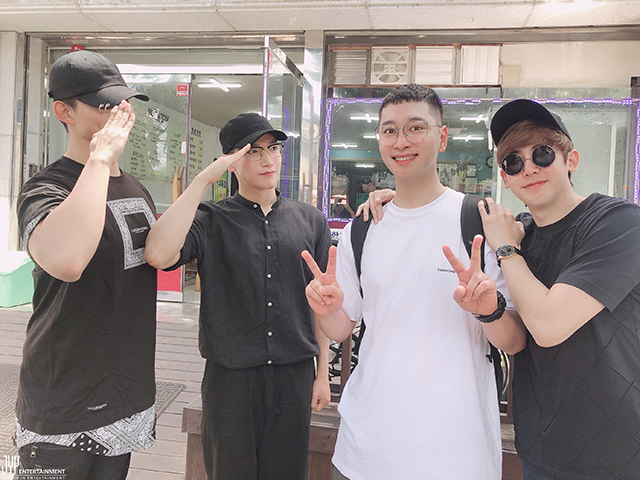 2PM,テギョン,Jun.K,チャンソン,ニックン