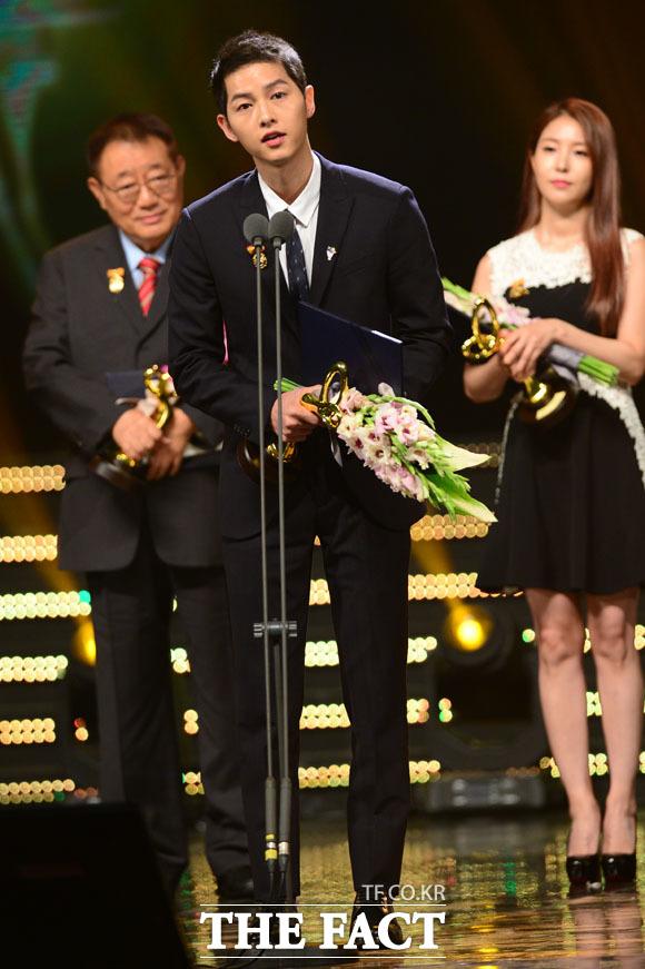 2016韓国大衆文化芸術賞,ソン・ジュンギ,