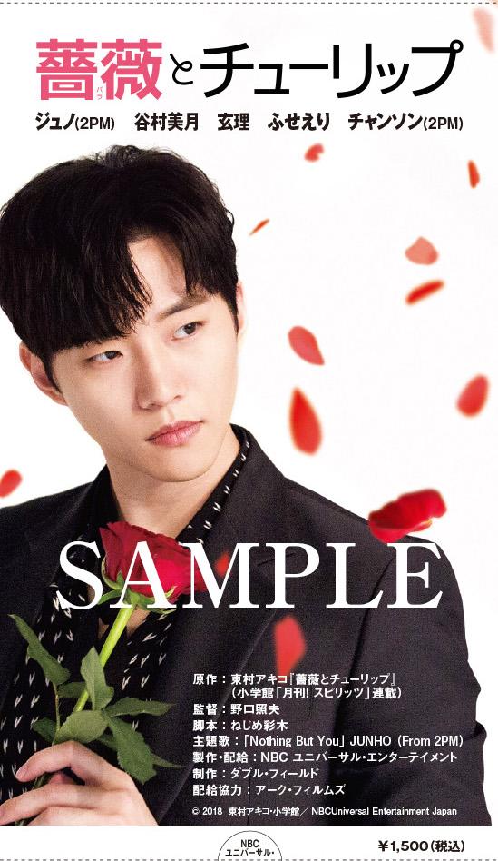 ジュノ(2PM),薔薇とチューリップ,