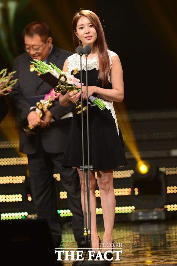 2016韓国大衆文化芸術賞,BoA,