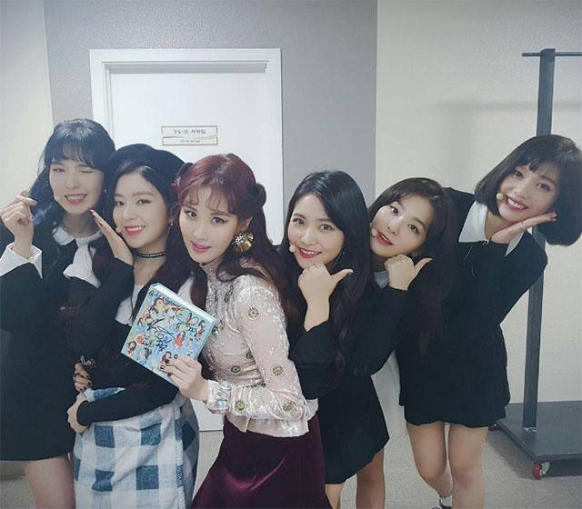 少女時代,ソヒョン,Red Velvet,