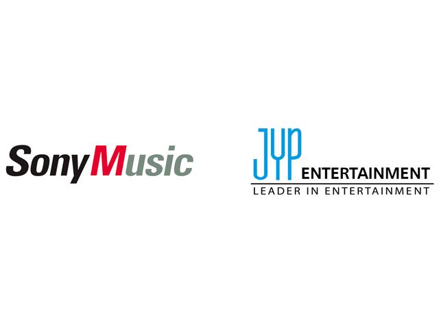 JYP,ソニーミュージック